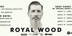 Royal Wood at the Imperial Theatre