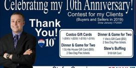 Stefan Cormier Celebrating 10th Anniversary with Remax