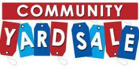 Red Head Community Yard Sale July 18th