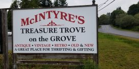 McIntyre Treasure Trove On The Grove Yard Sale