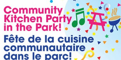 Community Kitchen Party In The Park