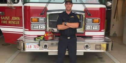Fire Fighter Mark Higgins Promoted To Lieutenant