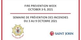 Fire Prevention Week October 3 to 9